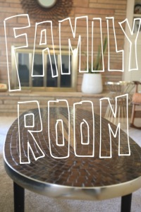Family Room House Tour