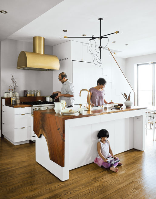 Dwell Brass Kitchen