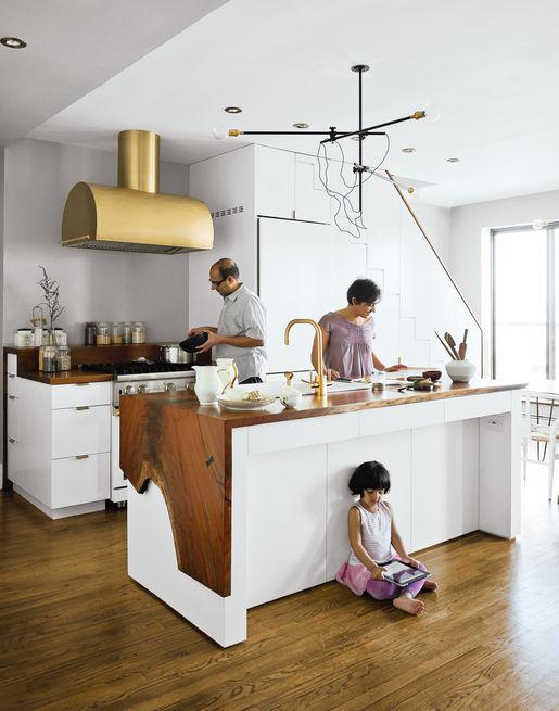 Dwell Brass Kitchen