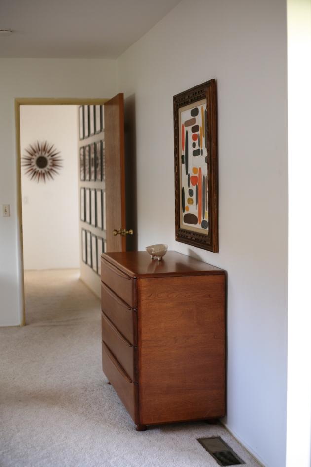 Master Bedroom Progress Part 2 And A Black Accent Wall Suburban Pop