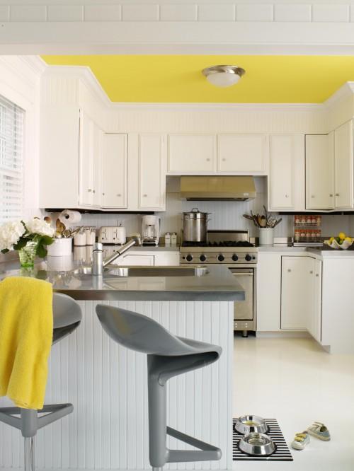 kitchenyellowceiling