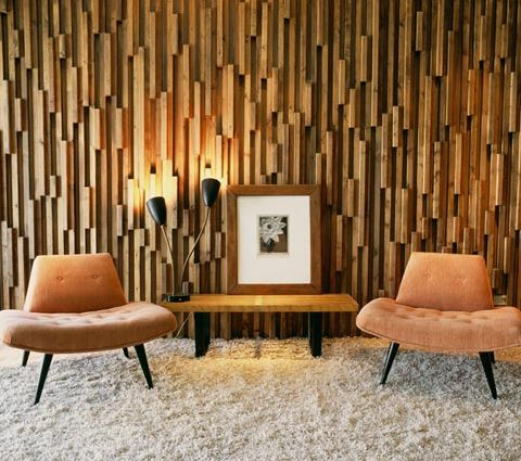 mid century wood wall texture