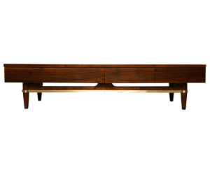 American_of_Martinsville_Vintage_Walnut_Coffee_Table_Mid_Century