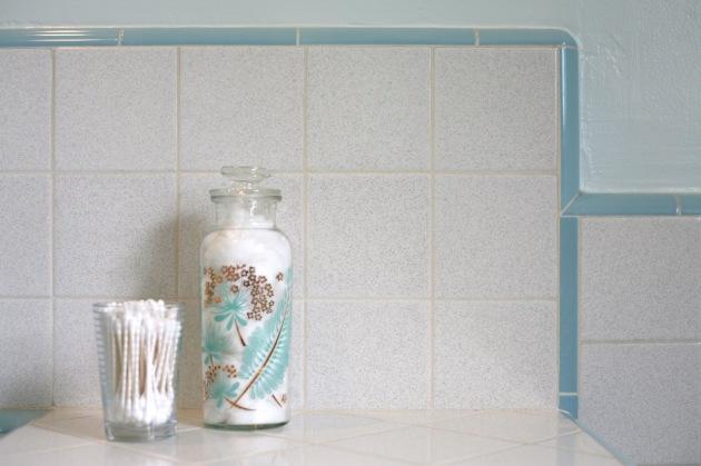 vintage tile salt pepper fleck