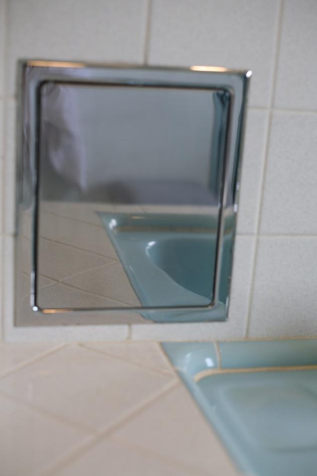 Blue Bathroom Progress Suburban Pop