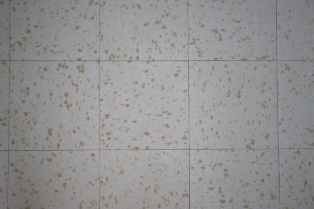 vintage mid century linoleum floor tiles 9 x 9 blue sparkle glitter