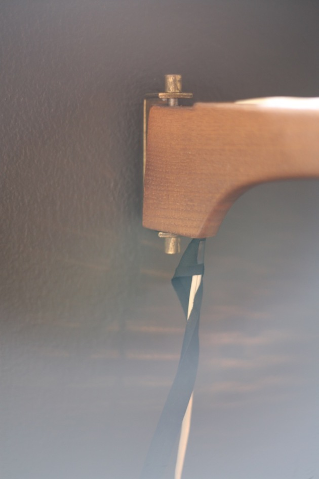 Wrapping lamp cord DIY