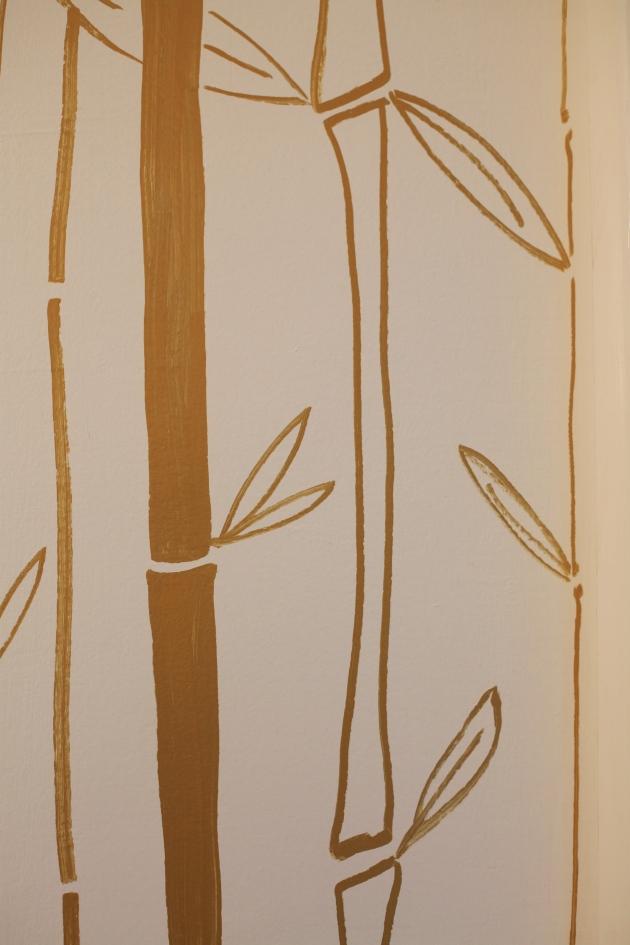 paint pen walls bamboo