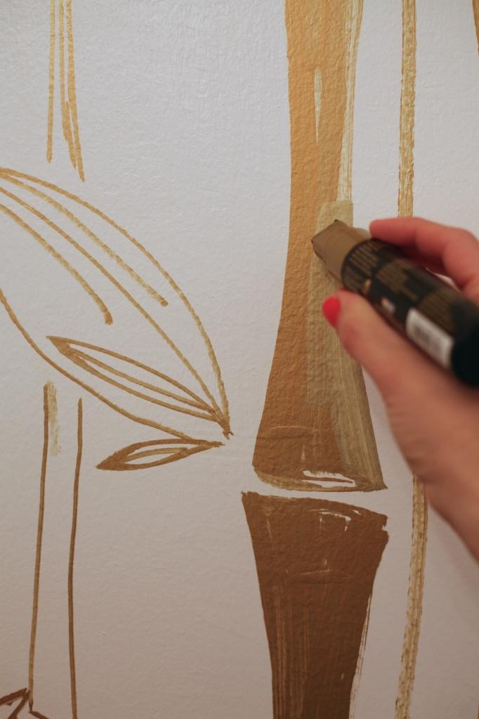 decocolor paint marker gold