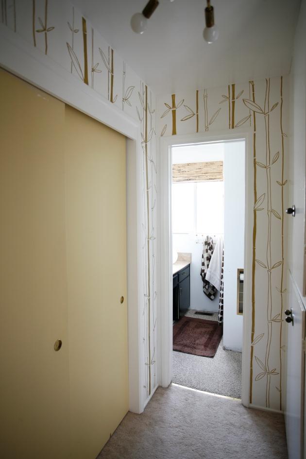 mid century closet doors