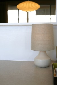 target threshold teardrop table lamp mid century