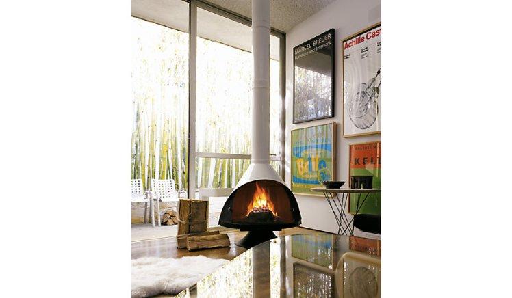 Vintage Fireplace Majestic Malm Preway Retro 60's 70's