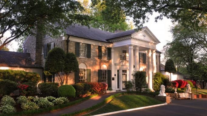 Graceland Elvis Exterior Memphis