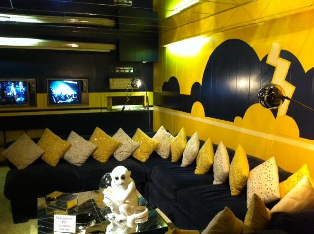 Graceland Elvis House Interior Tv Media Room