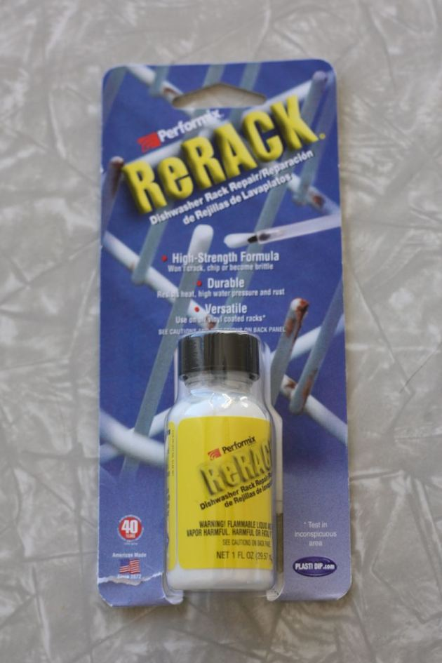 ReRack Review Dishwasher Tray Repair Rust