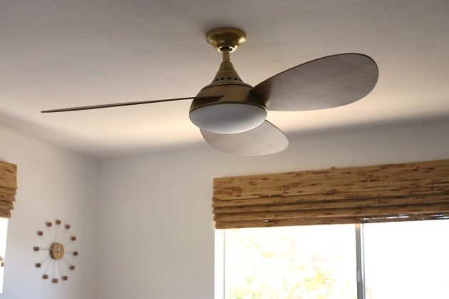 Modern Ceiling Fan Wood Eames plywood ceiling fan mid century
