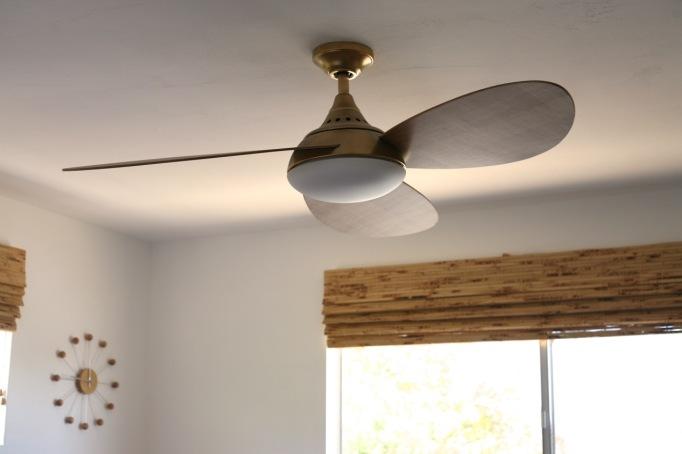 Modern Ceiling Fan Wood Eames plywood ceiling fan mid century