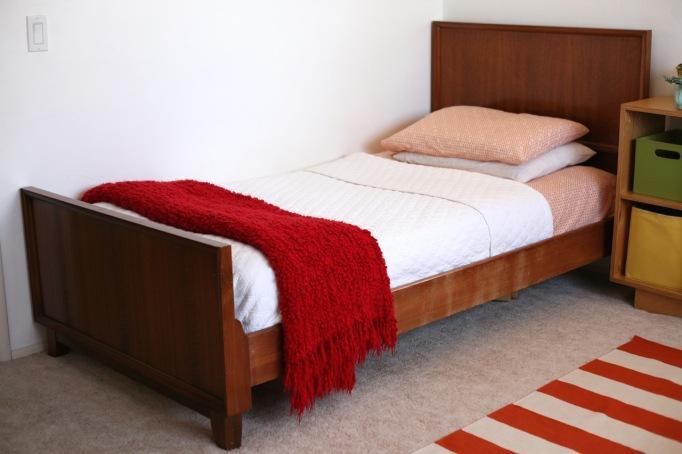 Danish modern bed kids room owl