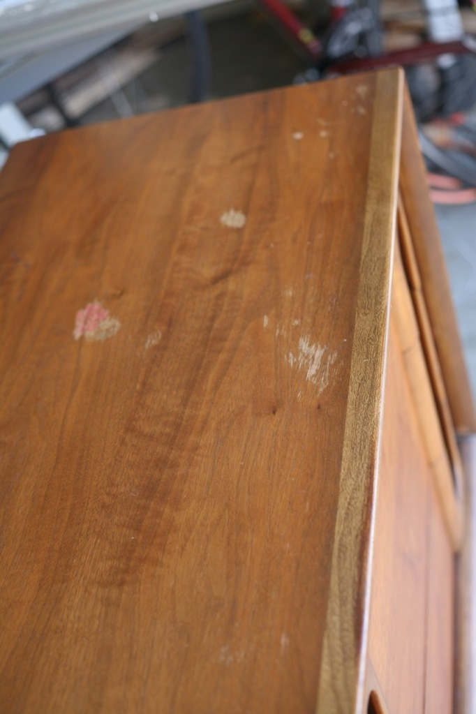 Howards Restore A Finish Vintage Mid Century Lane Dresser Walnut