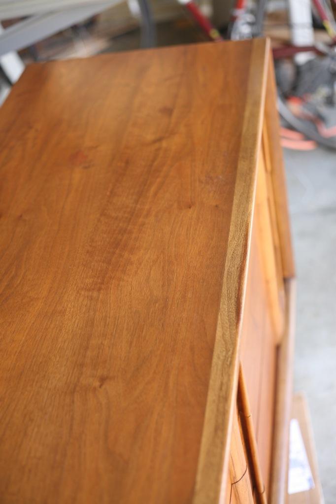 Howards Restore A Finish Vintage Mid Century Lane Dresser Walnut