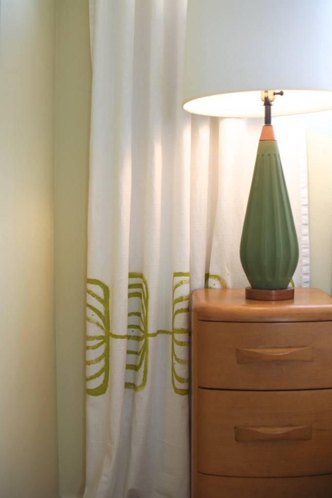 mid century green lamp light heywood wakefield niagara encore bedroom set