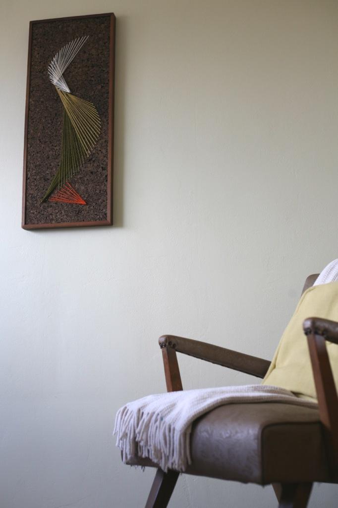 vintage chair mid century