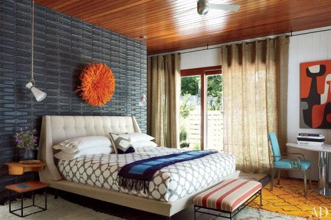 Jonathan Adler Bedroom Architectural Digest Shelter Island