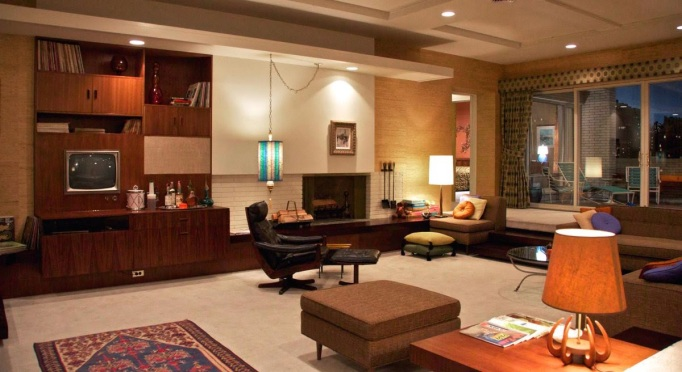 Don Draper Apartment Mad Men Set Design
