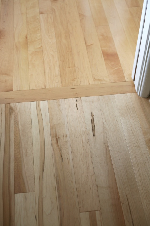 bellawood maple wood floor discoloration yellowing