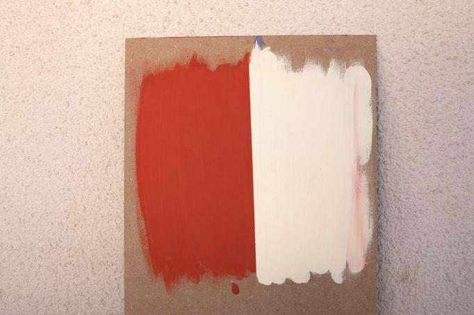orange white painting