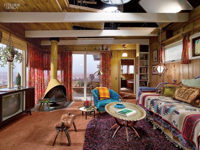 Megan Draper House Laurel Canyon Mad Men Set Design Bungalow