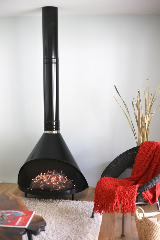 Fireplace Design cone fireplace : Lighting | Suburban Pop