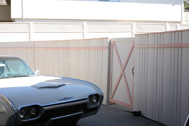 fence 1962 ford thunderbird