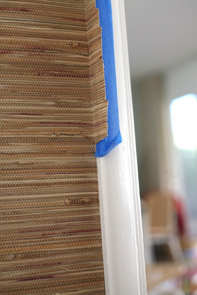 Grasscloth Grass Cloth Wallpaper How to hang install DIY