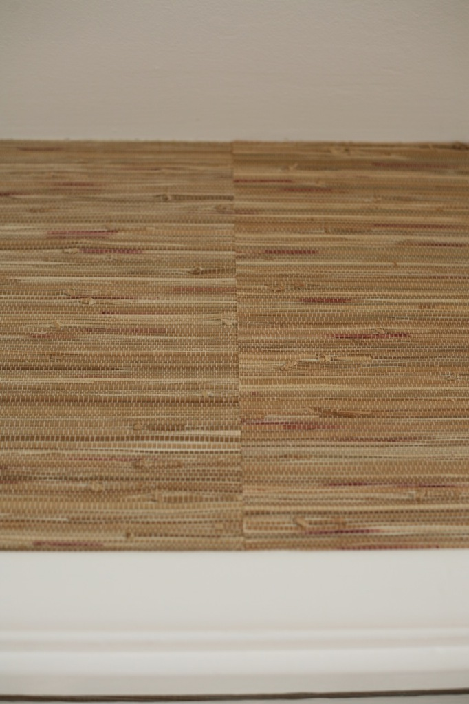 Grasscloth Grass Cloth Wallpaper How to hang install DIY panels seams double cutting