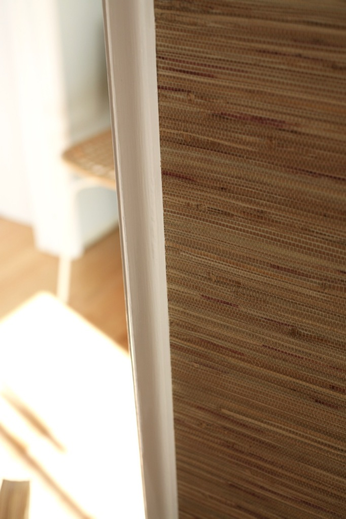 Grasscloth Grass Cloth Wallpaper How to hang install DIY panels seams