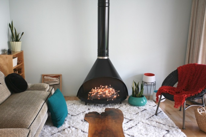 preway fireplace vintage mid century malm fire place cone 70's indoor