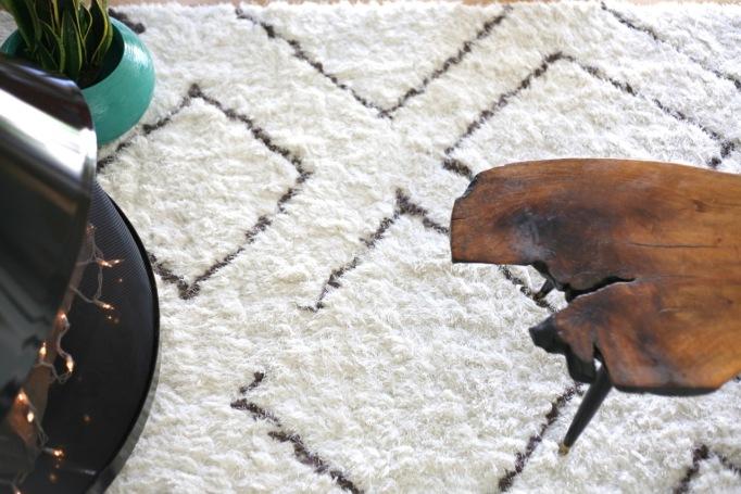 nuloom trellis shag rug rugs usa shaggy berber br02