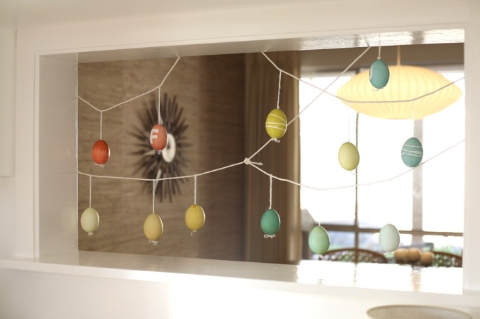 easter eggs tree ornaments real eggs alternative