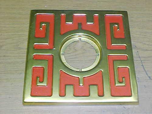 ebay mid century escutcheon schlage ming