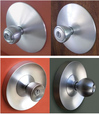 eichler door knobs escutcheon custom