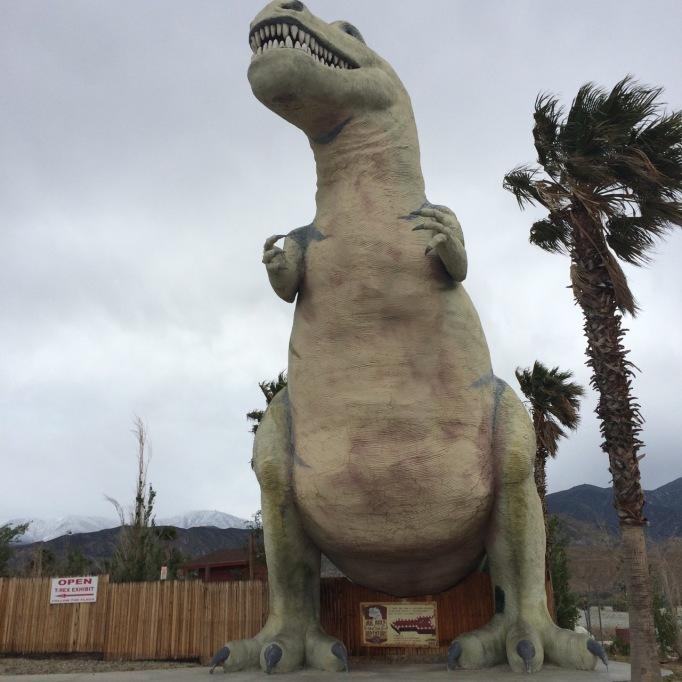 cabazon dinosaur t-rex tyrannosaurus rex