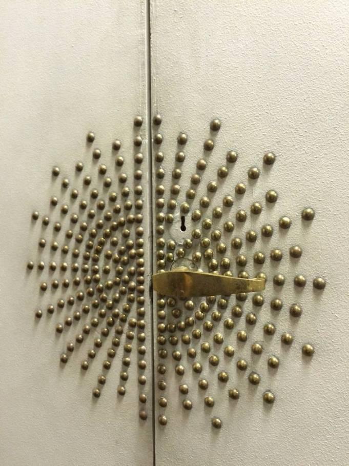 Jean Royere nailed door 1st dibs mid century