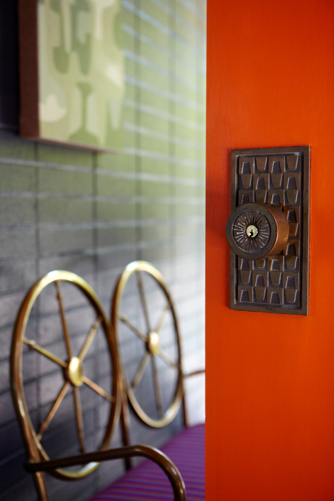 Bon Jonathan Adler Front Door Knob Mid Century 100 Ways To Happy Chic Your Life  100 Ways To Chic Your Life Via Houzz