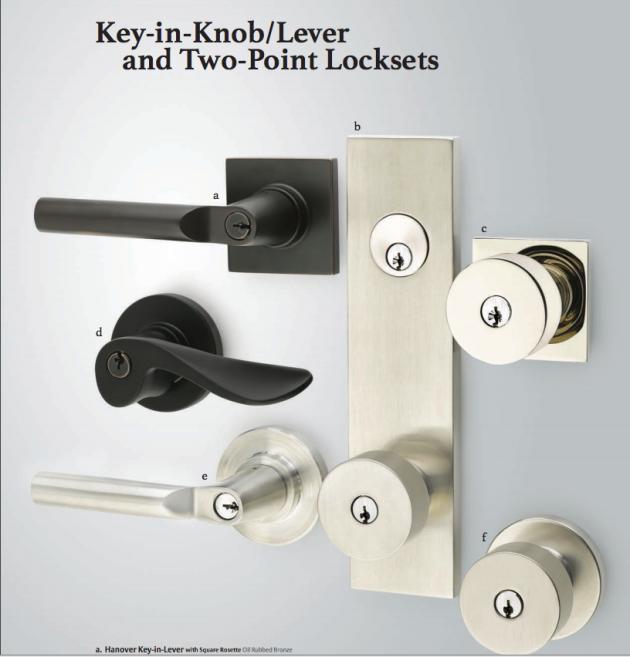 Modern Door Lock Hardware mid century front door hardware sources | suburban pop