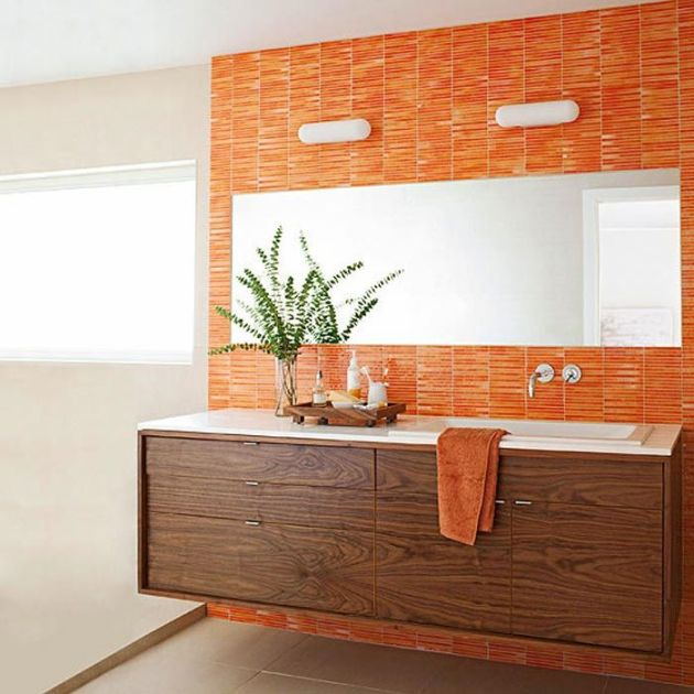 BHG Orange Walnut Bathroom