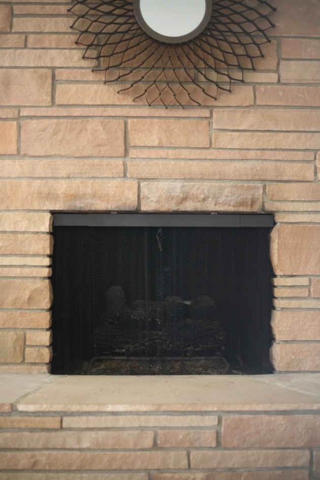 Mid Century Fireplace Screen Restoration Suburban Pop