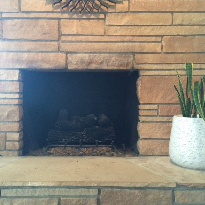 mid century fireplace screen replacement rock
