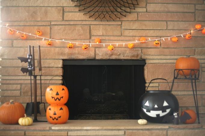 mid century halloween