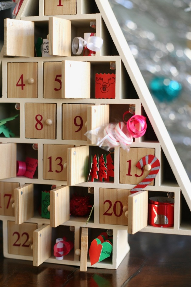 Christmas advent calendar filler ideas